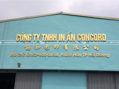 Biển quảng cáo công ty, cơ quan tại hải dương