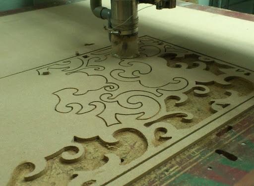 Cắt CNC gỗ MDF