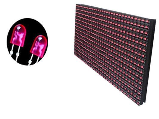 màn hình led p10 đỏ đơn sắc