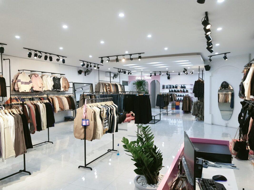 thi công cửa hàng tại Hải Dương