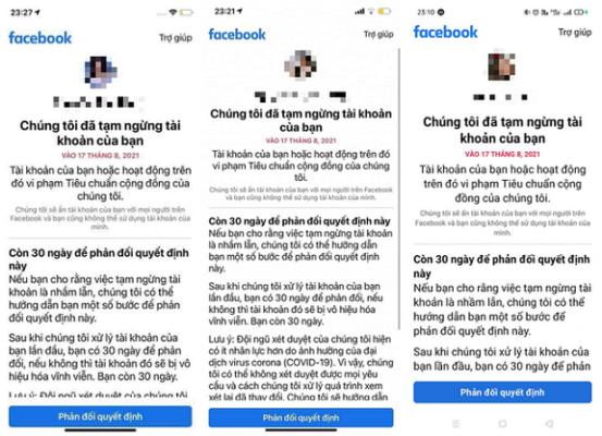Hướng dẫn mở khóa tài khoản facebook bị vô hiệu hóa